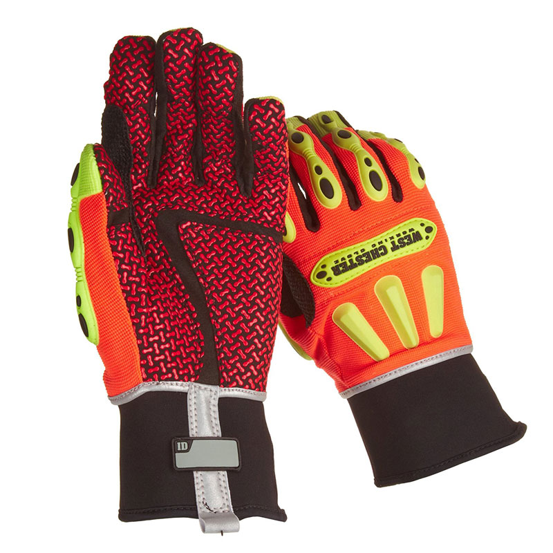 CLEARANCE - (Makes a GREAT Gift!) West Chester Kevlar Lined Work Gloves With Super Grip and Knuckle Impact Guards - $40 at Home Depot - Grab some for you and friends and family - (Heads up, these run a little large, so a medium fits almost all men's sized hands) - SHIPS FREE!