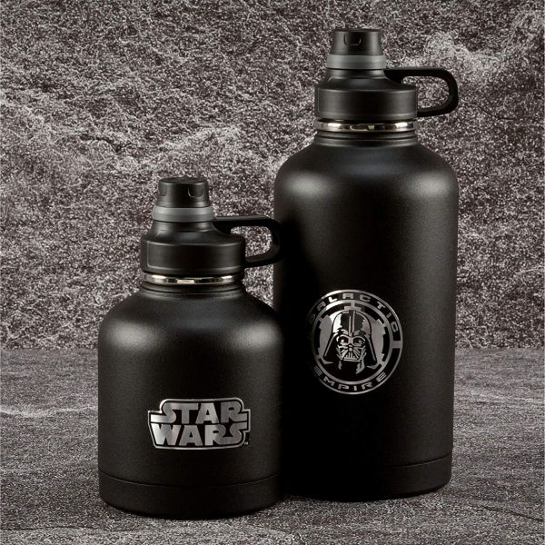 Double-Wall Vacuum Insulated Growler - Star Wars Edition by - Zak Designs - Available in 64oz or 32oz! - Star Wars fan or not, this is a CRAZY good deal on a double walled growler! Also makes a great gift! Great for beer of course, but for many other things as well! SHIPS FREE!